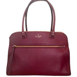 Kate Spade New York Cobble Hill Kiernan Merlot Bag